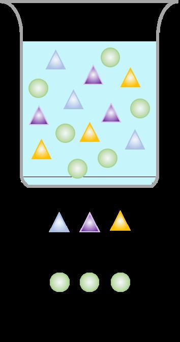 Reagenzglas mit ätherischen Ölen und Organischen Verbindungen